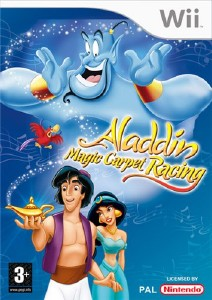 Aladdin Magic Racer (2010/Wii/ENG)