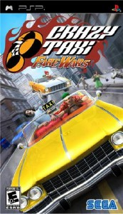 Crazy Taxi: Fare Wars 2.01 / NEW VERSION (2010/PSP/ENG)