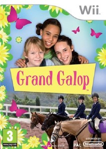 The Saddle Club - Grand Galop (2010/Wii/ENG)