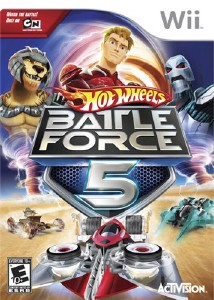 Hot Wheels: Battle Force 5 (2010/Wii/ENG)