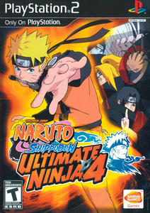 Naruto Shippuuden: Ultimate Ninja 4 (2009/RUS/PS2/PAL)