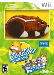 Zhu Zhu Pets 2: Featuring The Wild Bunch (2010/Wii/ENG)