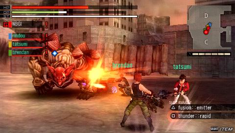 Gods Eater Burst / ENG / Action / 2011 / PSP [CSO]