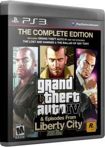 Скачать Grand Theft Auto IV: The Complete Edition [ENG] PS3