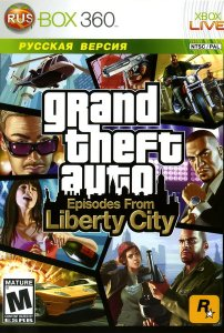 Grand Theft Auto: Episodes from Liberty City [RUS] XBOX 360