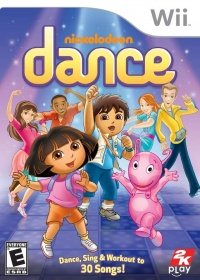 Nickelodeon Dance (2011) [ENG][PAL] WII