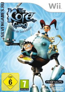 The Kore Gang Outvasion From Inner Earth [ENG][NTSC] WII