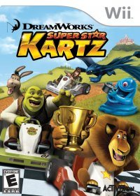 DreamWorks SuperStar Kartz (2011) [ENG][PAL] WII