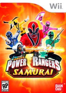 Power Rangers Samurai (2011) [ENG][PAL] WII