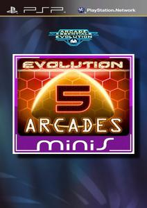 Arcade Essentials Evolution [RUS](2012) [MINIS] PSP