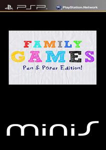 Family Games: Pen & Paper Edition [ENG](2011) [MINIS] PSP