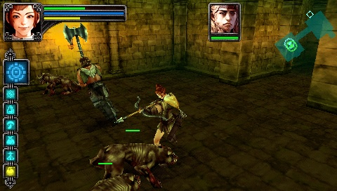 Warriors of the Lost Empire [ENG](2007) [MINIS] PSP