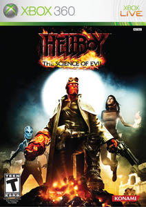 Hellboy: The Science of Evil (2008) [RUS] XBOX360