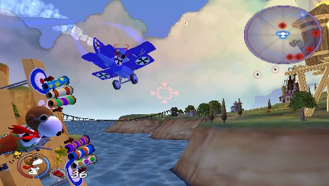 Snoopy vs the Red Baron [RUS] (2006) PSP