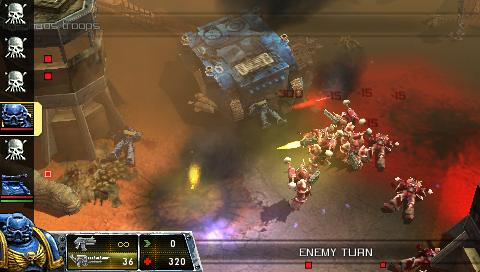 Warhammer 40.000: Squad Command /ENG/ [ISO] PSP