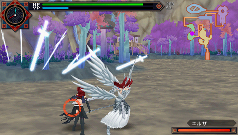 Fairy tail zelef kakusei psp gameplay
