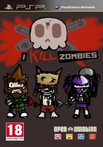 I Kill Zombies [ENG](2012) [MINIS] PSP