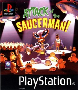 Attack of the Saucerman [ENG](1999) PSX-PSP