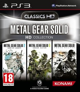 Metal Gear Solid HD Collection (2012) [ENG/FULL] (True Blue) PS3