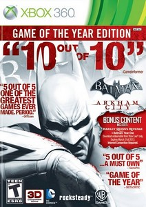 Batman Arkham City : Game of the Year Edition (2012) [RUS/FULL/Region Free](LT+2.0) XBOX360