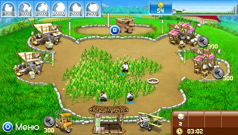 Farm Frenzy: Pizza Party [RUS] (2012) [MINIS] PSP