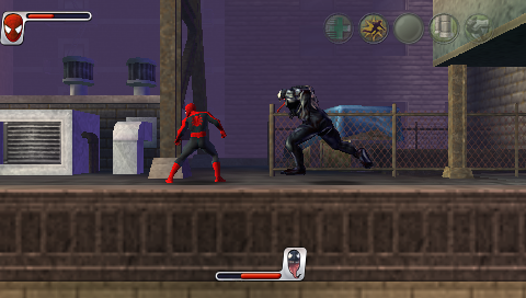 скачать игру Spider Man на Psp - фото 9