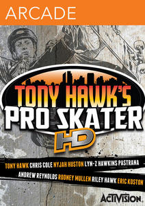 Tony Hawk's Pro Skater HD (2012) [ENG/FULL/Freeboot][JTAG] XBOX360