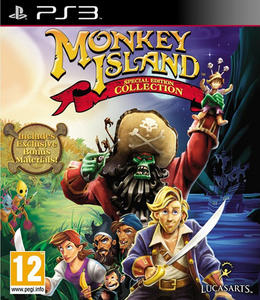Monkey Island Special Edition Collection (2012) [ENG][FULL] [3.55 Kmeaw] PS3