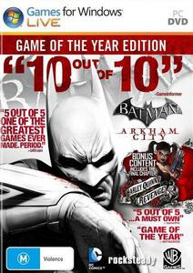 Batman: Arkham City - Game of the Year Edition [ENG\RUS\MULTi9][L] /Warner Bros. Interactive Entertainment/ (2012) PC