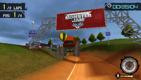 Monster Jam: Path of Destruction /ENG/ [ISO] PSP