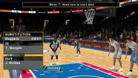 Download nba 2k14 psp iso cso for ppsspp android and ios.