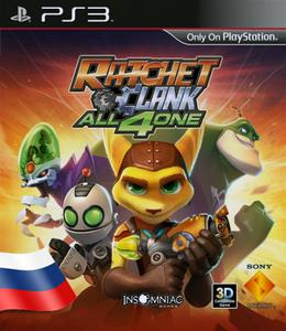 Ratchet & Clank: All 4 One (2011) [RUSSOUND][FULL] [3.55 Kmeaw] PS3