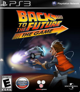 Back to the Future: The Game (2012) [RUSSOUND][FULL] [3.55 Kmeaw] PS3