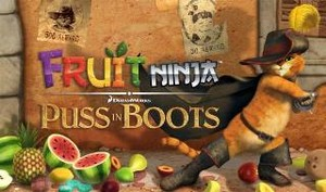 Fruit Ninja: Puss in Boots v1.0 [ENG][ANDROID] (2012)