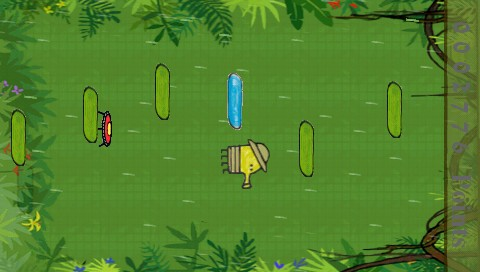 New Doodle Jump P5P/Christmas v5.1 /RUS/ (2013) PSP