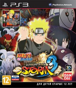 Naruto Shippuden: Ultimate Ninja Storm 3 [+8 DLC] (2013) [RUS][FULL] [3.41/3.55/4.30 Kmeaw] PS3