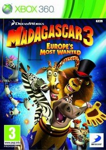 Madagascar 3: The Videogame (2012) [RUS/FULL/Region Free] (LT+1.9) XBOX360