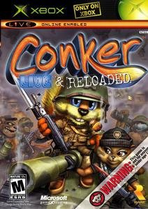 Conker Live And Reloaded [RUS/FULL/PAL] XBOX