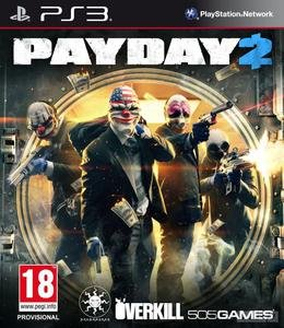 PayDay 2 (2013) [ENG][FULL] [3.41/3.55/4.30 Kmeaw] PS3