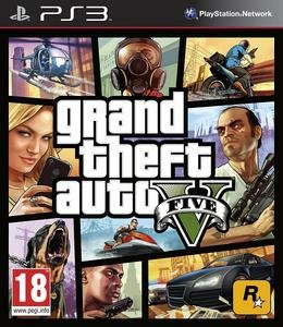 Grand Theft Auto V (2013) [RUS][FULL] [3.41/3.55/4.30+ Kmeaw] PS3