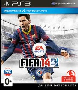 FIFA 14 (2013) [RUSSOUND][FULL] [3.41/3.55/4.30+ Kmeaw] PS3