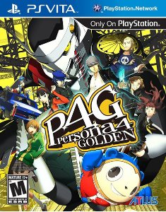 Persona 4 GOLDEN (2013) PS Vita