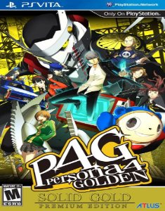 Persona 4: The Golden (2014) PS Vita