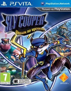 Sly Cooper: Thieves in Time (2013) PS Vita