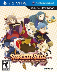 Sorcery Saga: Curse of the Great Curry God (2014) PSVita